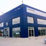 "Automobile dealership ""Peugeot"